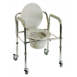 Κάθισμα τουαλέτας τροχήλατο ac-522w