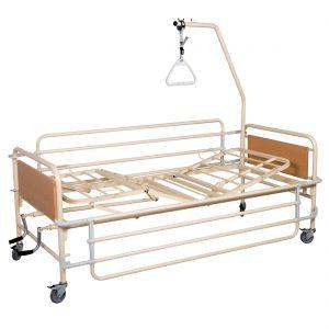Νοσοκομειακό κρεβάτι πολυσπαστο χειροκίνητο 2 μανιβέλες