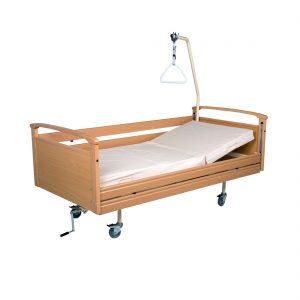 Κρεβάτι μονόσπαστο ξύλινο opus 4