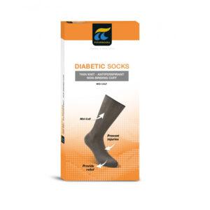 Κάλτσες για διαβητικούς λεπτής πλέξης Πουρνάρα